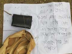 """""""Today You're Dead"""": BJP Man Found Dead In Bengal, Chilling Note On Shirt"""