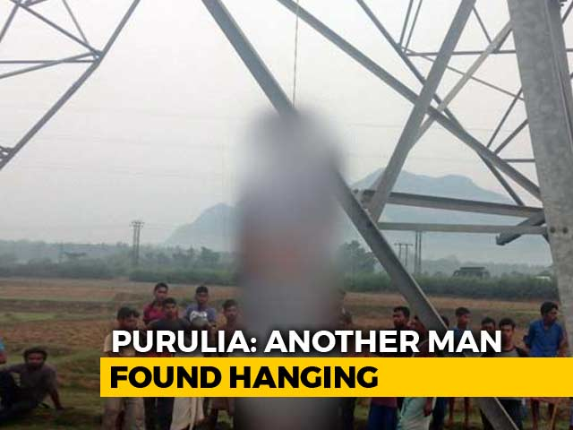 Video : Second Man Found Hanging In Bengal's Purulia, BJP Says Was A Party Worker