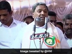 """Couldn't Become Chief Minister As Opponents Joined Hands"": Siddaramaiah"