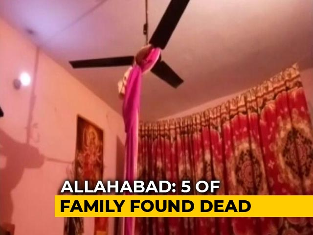 Video : Family Of 5 Found Dead In Allahabad Home. Bodies Found In Fridge, Almirah