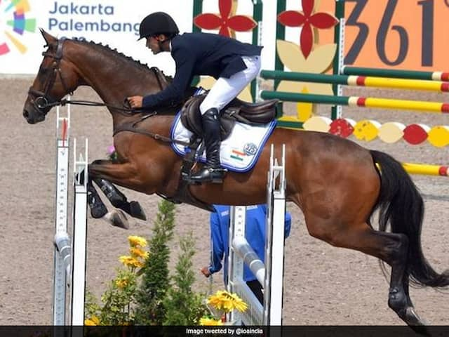 India's Fouaad Mirza Wins Historic Individual Equestrian Medal