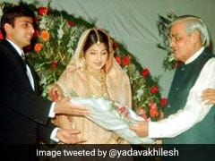 Akhilesh Yadav Shares Wedding Photo As He Remembers Atal Bihari Vajpayee