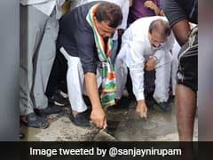 Potholes In Mumbai Get Congress's Attention Along With Some Repairing