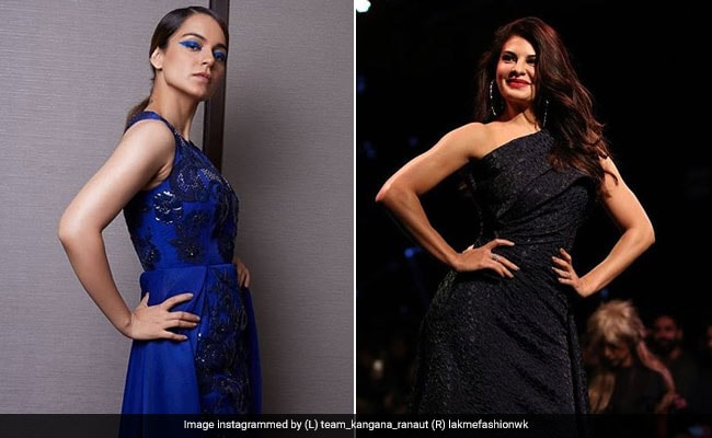Lakme Fashion Week Day 4: Jacqueline Fernandez And Kangana Ranaut Sizzle As Showstoppers In One Night