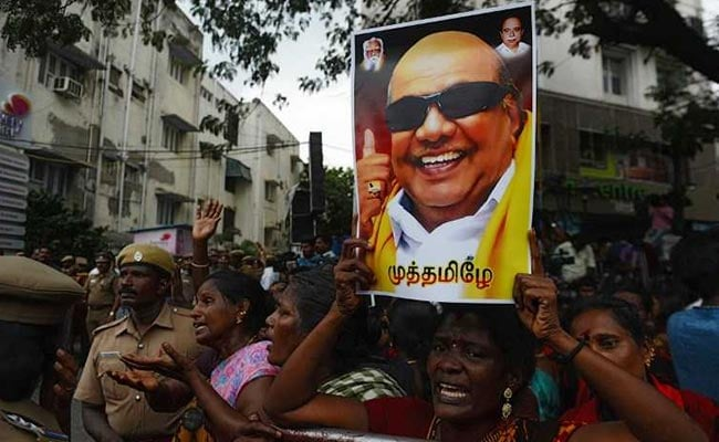 248 People Died Of 'Shock' Over M Karunanidhi's Death: DMK