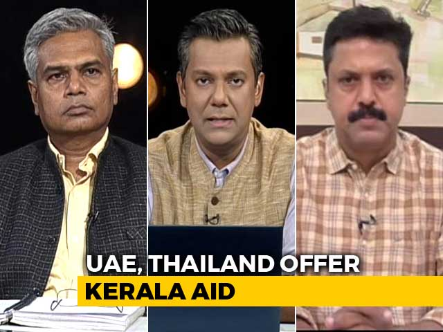Video: India Open To Foreign Aid For Kerala, Say Sources