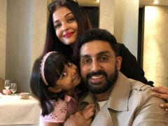 Aishwarya, Abhishek And Aaradhya Bachchan In A Million Dollar Pic. Credit - Amitabh Bachchan