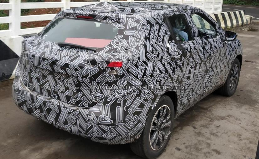 Nissan Kicks Spotted Testing In India For The First Time Ndtv