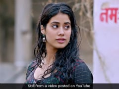 In This <i>Dhadak</i> Scene, Janhvi Kapoor Thought It Was Sridevi And Not Her