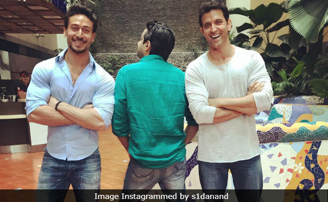 Seen Rambo Director's Pic Featuring Tiger Shroff And Hrithik Roshan Yet ?