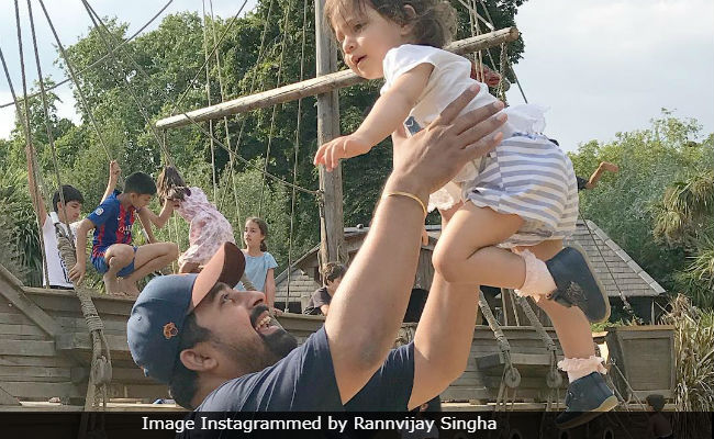 Rannvijay Singha's Post For Daughter Kainaat Is The Cutest Thing On The Internet Today