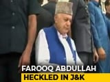 Video : In Delhi, Farooq Abdullah Raised 'Bharat Mata' Slogan, And Then...
