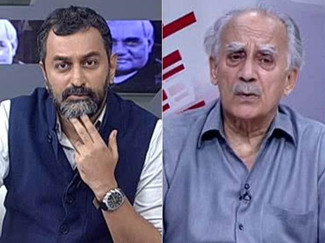Video : Atal Bihari Vajpayee Wasn't Jealous, Or Insecure, Says Arun Shourie
