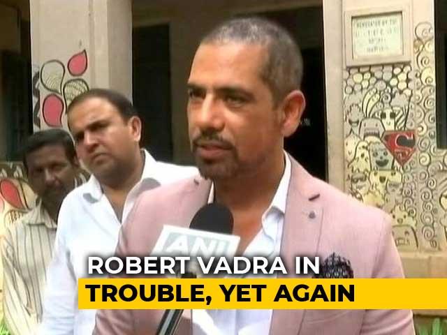 Video : FIR Against Robert Vadra, Ex-Haryana Chief Minister Over Gurgaon Deals