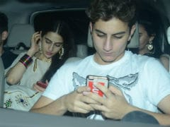 Inside Sara Ali Khan's Birthday Party With Mom Amrita Singh, Brother Ibrahim And Friends