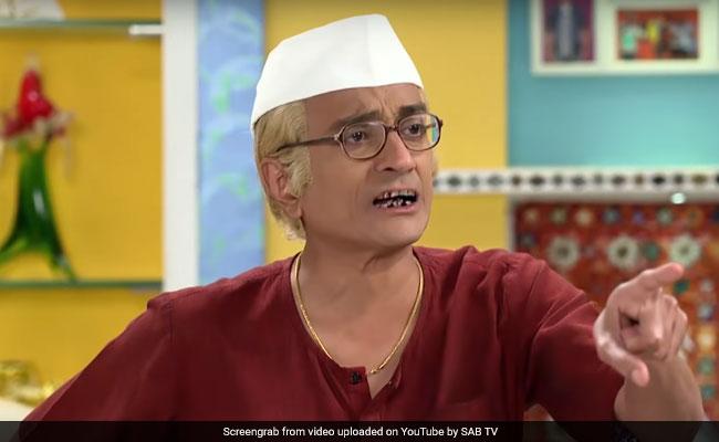 Taarak Mehta Ka Ooltah Chashmah Jethalal Bapuji Red Saree ... Taarak Mehta Ka Ooltah Chashmah Bapuji