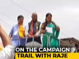 Video : Vasundhara Raje On The Rajasthan Campaign Trail