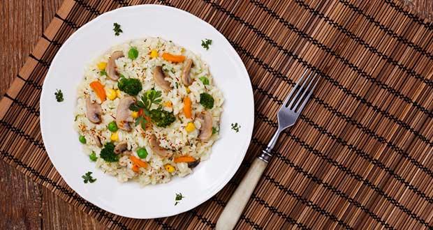 Quinoa Risotto With Mushroom