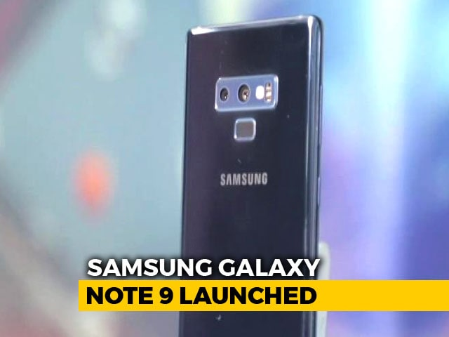 Video : Samsung Galaxy Note 9 Officially Launched in India