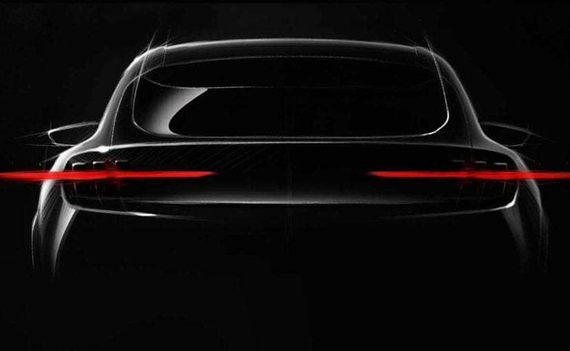 Ford Mustang-Inspired EV Teased