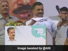 Arvind Kejriwal Publicly Tears Lt Governor Report, Says CCTV Plan Cleared