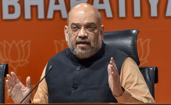 For Amit Shah's Kolkata Rally, BJP Seeks Permission To Fly Drone