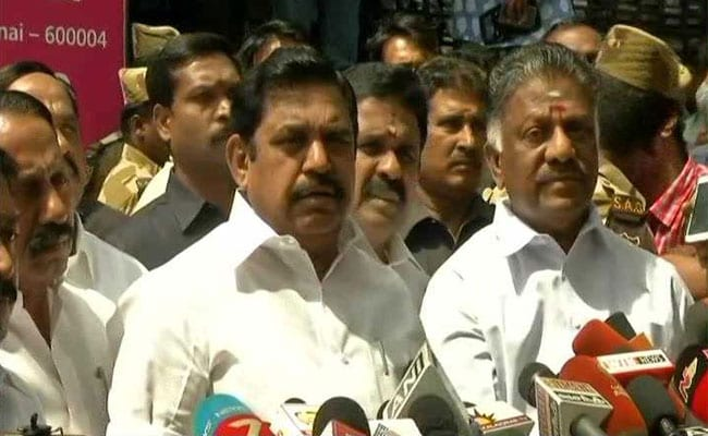 AIADMK's Last Minute Quota Deal Seals Alliance, Seat-Sharing Talks On