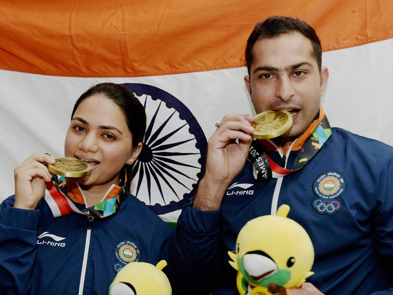 Asian Games Day 1 Live: Bronze In Shooting, Wrestler Bajrang In Final