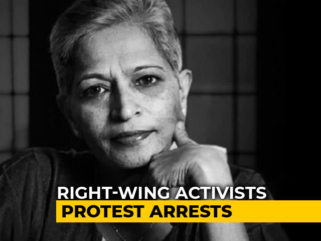 Video : One More Arrest In Gauri Lankesh Murder Case Takes Total To 10