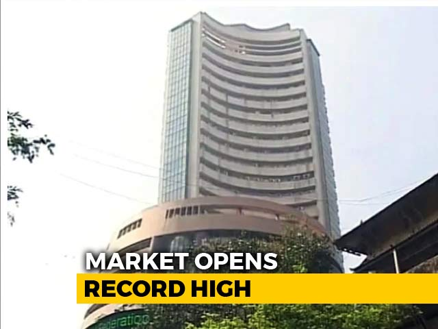 Video : Sensex Above 37,800, Nifty Hits 11,400 For First Time Ever