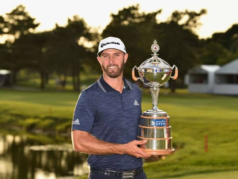 Dustin Johnson Bounces Back To Win First Canadian Open Crown