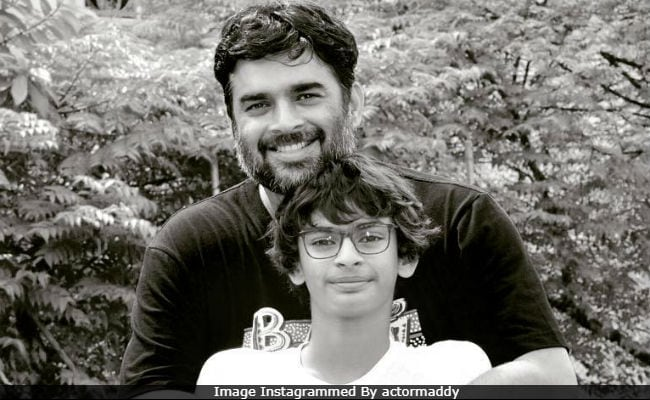 Madhavan And Wife Saritas Birthday Posts For Son Vedaant Now 13 Will Make You Smile
