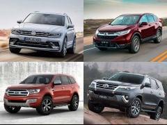 2019 Honda CR-V vs Toyota Fortuner vs Ford Endeavour vs Skoda Kodiaq vs Volkswagen Tiguan: Specifications Comparison