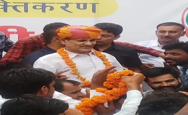 Take Pledge To Root Out BJP In Rajasthan: Congress Leader Rameshwar Dudi