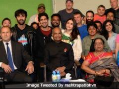 Ranbir Kapoor, Alia Bhatt And Team <i>Brahmastra</I> Meet President Kovind In Bulgaria. See Pics
