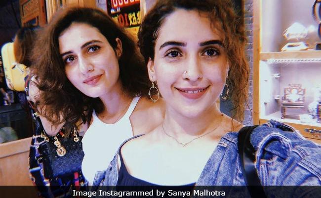 Fatima Sana Shaikh And Sanya Malhotra Share Postcard-Worthy Pics From China