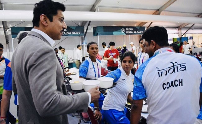 Minister Rathore Praised On Social Media For This Photo At Asian Games