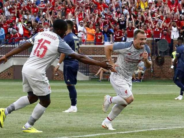 Xherdan Shaqiri Shines On Debut As Liverpool Rout Manchester United