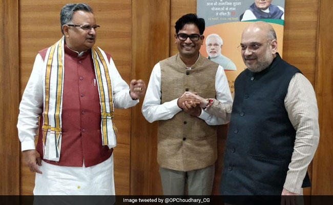 Ex-Raipur Collector Joins BJP Days After Resigning From Civil Services