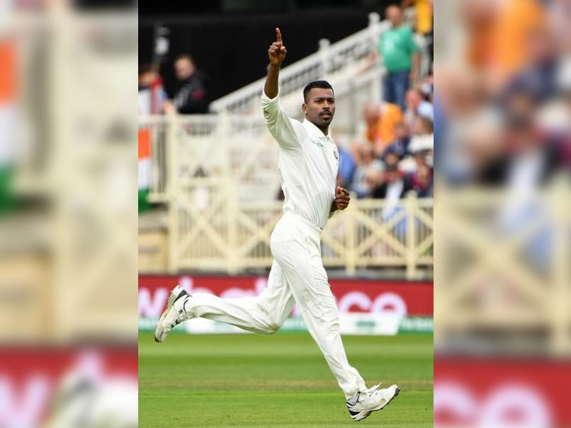 India Vs England Highlights Rd Test Day  Hardik Pandya