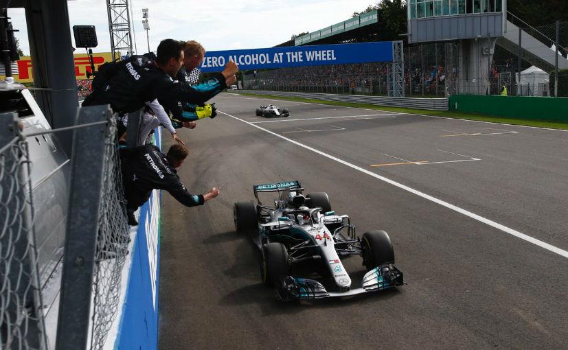 Lewis Hamilton took the win over Kimi Raikkonen which is Ferrari's home track
