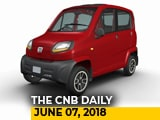 Video: Quadricycles, Jeep Renegade Facelift, Nissan Connect App