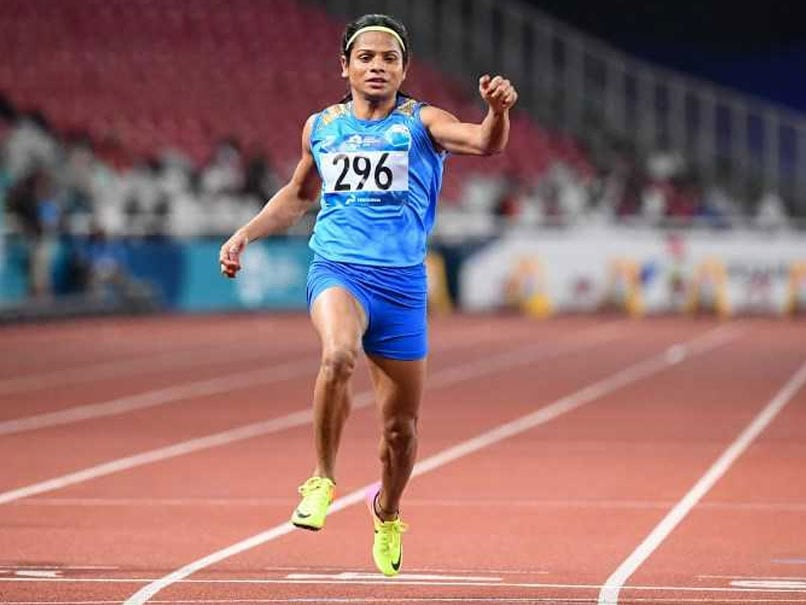 Asian Games 2018: Dutee Chand Bags Silver In 100M Dash