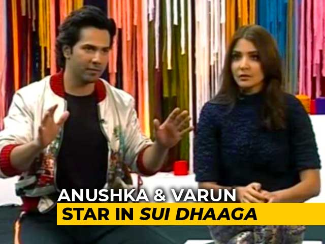 Video : Anushka, Varun On <i>Sui Dhaaga</i> & Social Media Trolling