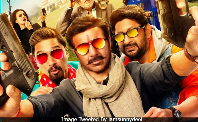 Finally, The First Look Of Preity Zinta And Sunny Deol's Bhaiaji Superhit. Also, A New Release Date