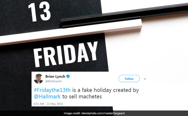 13 Hilarious Tweets To Get You Through Friday The 13th
