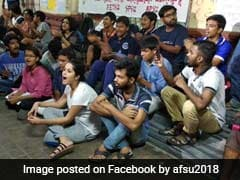Protests Continue In Jadavpur University, Vice-Chancellor Meets Students