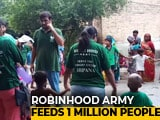 "Video : Independence Day: ""Robinhood Army"" Distributes Food To 1 Million People"