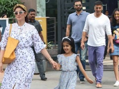 In Pics: Akshay Kumar's Lunch Date With Twinkle Khanna And Nitara