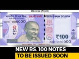 Video : New Rs. 100 Note In Lavender Features Gujarat's 'Rani Ki Vav'